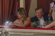 Opernball 2015 - Das Fest - Wiener Staatsoper - Do 12.02.2015 - Elisabetta CANALIS, Richard und Cathy LUGNER23