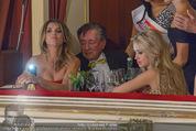 Opernball 2015 - Das Fest - Wiener Staatsoper - Do 12.02.2015 - Elisabetta CANALIS, Richard und Cathy LUGNER24