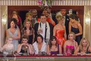 Opernball 2015 - Das Fest - Wiener Staatsoper - Do 12.02.2015 - Vollbesetze Loge w�hrend der Er�ffnung28