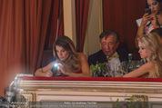 Opernball 2015 - Das Fest - Wiener Staatsoper - Do 12.02.2015 - Elisabetta CANALIS, Richard und Cathy LUGNER32