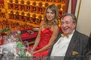 Opernball 2015 - Das Fest - Wiener Staatsoper - Do 12.02.2015 - Elisabetta CANALIS, Richard LUGNER (Logenfoto)58