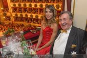 Opernball 2015 - Das Fest - Wiener Staatsoper - Do 12.02.2015 - Elisabetta CANALIS, Richard LUGNER (Logenfoto)59