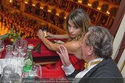 Opernball 2015 - Das Fest - Wiener Staatsoper - Do 12.02.2015 - Elisabetta CANALIS, Richard LUGNER (Logenfoto)61
