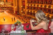 Opernball 2015 - Das Fest - Wiener Staatsoper - Do 12.02.2015 - Elisabetta CANALIS (Logenfoto)62