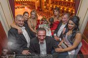 Opernball 2015 - Das Fest - Wiener Staatsoper - Do 12.02.2015 - Elisabetta CANALIS, Richard LUGNER (Gruppenfoto Loge)64