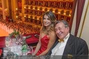 Opernball 2015 - Das Fest - Wiener Staatsoper - Do 12.02.2015 - Elisabetta CANALIS, Richard LUGNER (Logenfoto)67