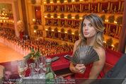 Opernball 2015 - Das Fest - Wiener Staatsoper - Do 12.02.2015 - Elisabetta CANALIS (Logenfoto)69