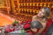 Opernball 2015 - Das Fest - Wiener Staatsoper - Do 12.02.2015 - Elisabetta CANALIS (Logenfoto)70