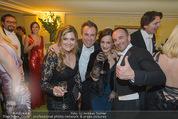 Opernball 2015 - Das Fest - Wiener Staatsoper - Do 12.02.2015 - Christopher WOLF, Uwe KR�GER, Andrea BOCAN, Atousa MASTAN75