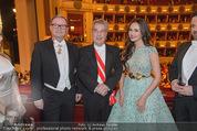 Opernball 2015 - Das Fest - Wiener Staatsoper - Do 12.02.2015 - Karlheinz KOPF, Heinz FISCHER86