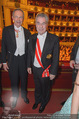 Opernball 2015 - Das Fest - Wiener Staatsoper - Do 12.02.2015 - Karlheinz KOPF, Heinz FISCHER87