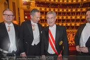 Opernball 2015 - Das Fest - Wiener Staatsoper - Do 12.02.2015 - Karlheinz KOPF, Heinz FISCHER, Andreas TREICHL88