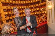 Opernball 2015 - Das Fest - Wiener Staatsoper - Do 12.02.2015 - Heinz FISCHER, Desiree TREICH-ST�RGKH tanzen in Loge100