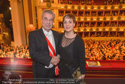 Opernball 2015 - Das Fest - Wiener Staatsoper - Do 12.02.2015 - Heinz FISCHER105