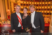 Opernball 2015 - Das Fest - Wiener Staatsoper - Do 12.02.2015 - Heinz FISCHER, Christian MAREK106