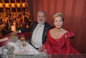 Opernball 2015 - Das Fest - Wiener Staatsoper - Do 12.02.2015 - Christiane H�RBIGER, Gerhard T�TSCHNIGER118
