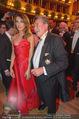 Opernball 2015 - Das Fest - Wiener Staatsoper - Do 12.02.2015 - Richard LUGNER tanzt mit Elisabetta CANALIS (tanzen, Tanzfl�che121