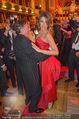 Opernball 2015 - Das Fest - Wiener Staatsoper - Do 12.02.2015 - Richard LUGNER tanzt mit Elisabetta CANALIS (tanzen, Tanzfl�che126