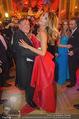 Opernball 2015 - Das Fest - Wiener Staatsoper - Do 12.02.2015 - Richard LUGNER tanzt mit Elisabetta CANALIS (tanzen, Tanzfl�che130