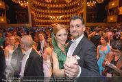 Opernball 2015 - Das Fest - Wiener Staatsoper - Do 12.02.2015 - Roman und Elisabeth SVABEK142
