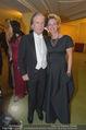 Opernball 2015 - Das Fest - Wiener Staatsoper - Do 12.02.2015 - Friedrich STICKLER mit Ehefrau Berit153