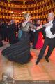 Opernball 2015 - Das Fest - Wiener Staatsoper - Do 12.02.2015 - Desiree TREICHL-ST�RKGH tanz ausgelassen mit Roberto LHOTKA222