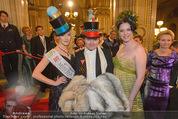 Opernball 2015 - Feststiege - Wiener Staatsoper - Do 12.02.2015 - Carmen KREUZER119