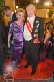 Opernball 2015 - Feststiege - Wiener Staatsoper - Do 12.02.2015 - Michael H�UPL mit Ehefrau Barbara (H�rnlein)123
