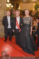 Opernball 2015 - Feststiege - Wiener Staatsoper - Do 12.02.2015 - Dominique MEYER, Heinz FISCHER, Desiree TREICHL-ST�RGKH133
