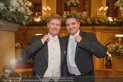 Opernball 2015 - Feststiege - Wiener Staatsoper - Do 12.02.2015 - Christoph WAGNER-TRENKWITZ, Kari HOHENLOHE19