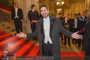 Opernball 2015 - Feststiege - Wiener Staatsoper - Do 12.02.2015 - Clemens UNTERREINER30