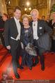 Opernball 2015 - Feststiege - Wiener Staatsoper - Do 12.02.2015 - Familie Harald, Daniel und Ingeborg Mausi SERAFIN58