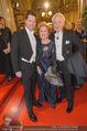 Opernball 2015 - Feststiege - Wiener Staatsoper - Do 12.02.2015 - Familie Harald, Daniel und Ingeborg Mausi SERAFIN59
