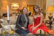 Elisabetta Canalis Suite Fototermin - Ana Grand Hotel - Do 12.02.2015 - Elisabetta CANALIS, Daniela BARDEL8