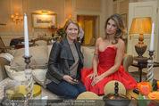 Elisabetta Canalis Suite Fototermin - Ana Grand Hotel - Do 12.02.2015 - Elisabetta CANALIS, Daniela BARDEL9