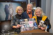 Dancer against Cancer Kalender - BMW Wien - Mi 25.02.2015 - Hans-Georg HEINKE mit Ehefrau Karin, Brigitte KREN15