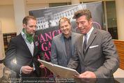 Dancer against Cancer Kalender - BMW Wien - Mi 25.02.2015 - Matthias URISK, Manfred BAUMANN, Mat SCHUH24