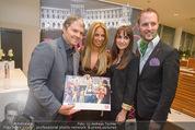 Dancer against Cancer Kalender - BMW Wien - Mi 25.02.2015 - Matthias URISK, Manfred und Nelly BAUMANN, Yvonne RUEFF36