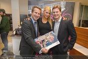 Dancer against Cancer Kalender - BMW Wien - Mi 25.02.2015 - Gregor HATALA, Markus POHANKA, Kathi STEININGER75