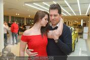 Dancer against Cancer Kalender - BMW Wien - Mi 25.02.2015 - Daniel SERAFIN, Roxanne RAPP89