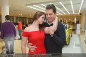 Dancer against Cancer Kalender - BMW Wien - Mi 25.02.2015 - Daniel SERAFIN, Roxanne RAPP91