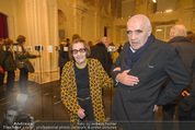 Ausstellung ´Vienna for Art´s Sake´ - Winterpalais - Do 26.02.2015 - Peter NOEVER mit Mutter Mimi (101 Jahre alt)12