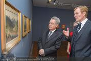 Ausstellung ´Die Kammermaler´ - Albertina - Do 26.02.2015 - Klaus-Albrecht SCHR�DER, Heinz FISCHER17