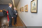 Ausstellung ´Die Kammermaler´ - Albertina - Do 26.02.2015 - Klaus-Albrecht SCHR�DER, Heinz FISCHER20