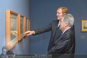 Ausstellung ´Die Kammermaler´ - Albertina - Do 26.02.2015 - Klaus-Albrecht SCHR�DER, Heinz FISCHER22