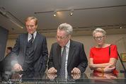 Ausstellung ´Die Kammermaler´ - Albertina - Do 26.02.2015 - Klaus-Albrecht SCHR�DER, Heinz FISCHER, Marlies STERNATH24