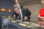 Ausstellung ´Die Kammermaler´ - Albertina - Do 26.02.2015 - Klaus-Albrecht SCHR�DER, Heinz FISCHER27