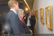 Ausstellung ´Die Kammermaler´ - Albertina - Do 26.02.2015 - Klaus-Albrecht SCHR�DER, Heinz FISCHER29