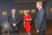 Ausstellung ´Die Kammermaler´ - Albertina - Do 26.02.2015 - Klaus-Albrecht SCHR�DER, Heinz FISCHER, Marlies STERNATH8