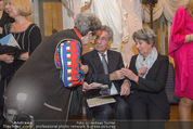 Ausstellung ´Die Kammermaler´ - Albertina - Do 26.02.2015 - Margit und Heinz FISCHER geben Autogramme92